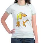 dog Bride Jr. Ringer T-Shirt