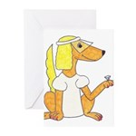 dog Bride Greeting Cards (Pk of 10)