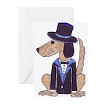 dog Groom Greeting Cards (Pk of 20)