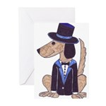 dog Groom Greeting Cards (Pk of 10)