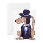 dog Groom Greeting Card