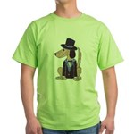 dog Groom Green T-Shirt