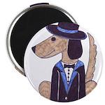 """dog Groom 2.25"""" Magnet (100 pack)"""