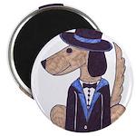 """dog Groom 2.25"""" Magnet (10 pack)"""