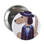 """dog Groom 2.25"""" Button (10 pack)"""