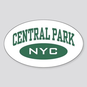 Central Park NYC Oval Sticker