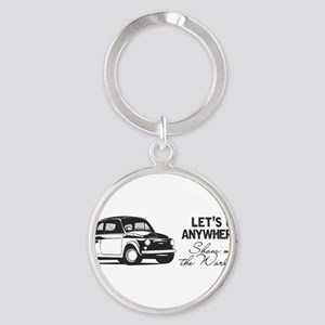 Show me the world, Fiat. Keychains