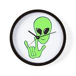 ILY Alien Wall Clock