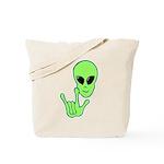 ILY Alien Tote Bag