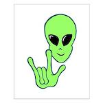 ILY Alien Small Poster
