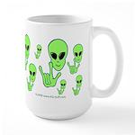 ILY Alien Large Mug