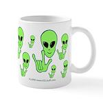 ILY Alien Mug
