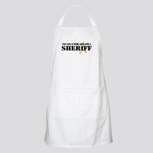 Feel Safe With A Sheriff BBQ Apron