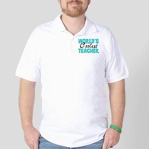 World's Coolest Teacher Golf Shirt