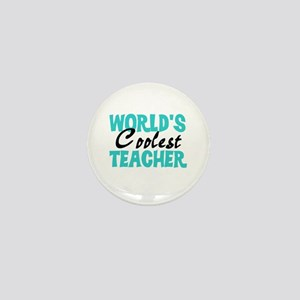 World's Coolest Teacher Mini Button