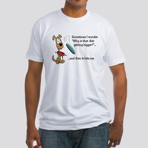 Flying Disc Fitted T-Shirt