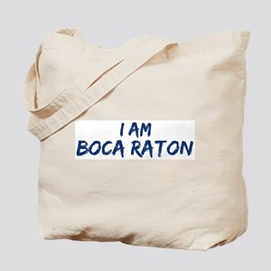 I am Boca Raton Tote Bag