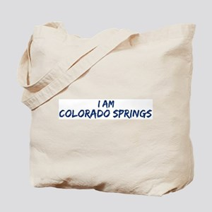 I am Colorado Springs Tote Bag