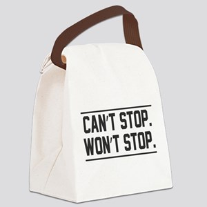 Womens March Canvas Lunch Bag