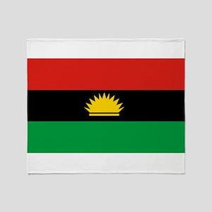 Flag of Biafra - Biafran Flag Throw Blanket