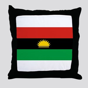 Flag of Biafra - Biafran Flag Throw Pillow