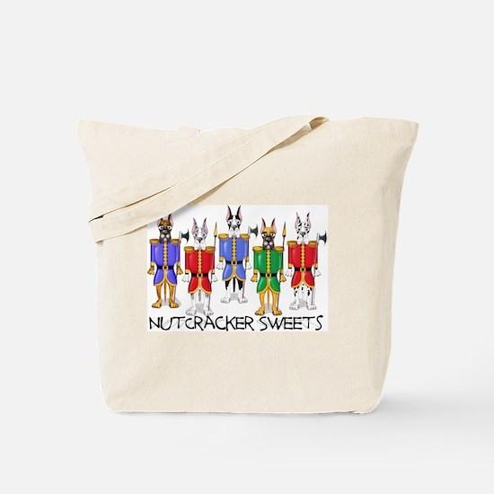 Great Dane Nut Crackers Tote Bag