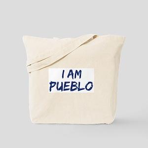I am Pueblo Tote Bag