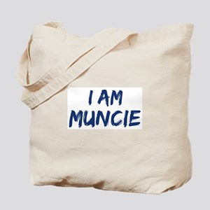 I am Muncie Tote Bag