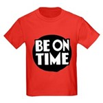 Be On Time Kids Dark T-Shirt