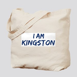 I am Kingston Tote Bag