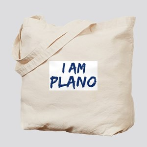 I am Plano Tote Bag