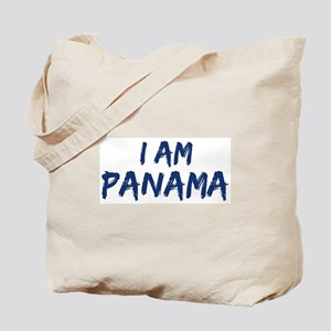 I am Panama Tote Bag