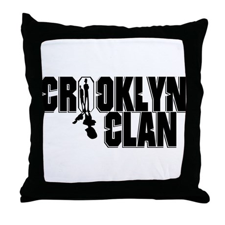 Crooklyn Clan Throw Pillow