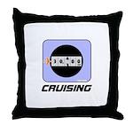 *NEW DESIGN*  CRUISING... Throw Pillow