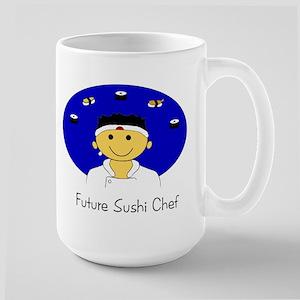 Future Sushi Chef Large Mug
