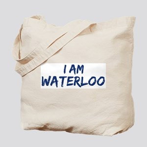 I am Waterloo Tote Bag
