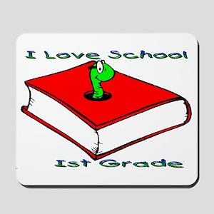 Bookworm 1st Grade Mousepad