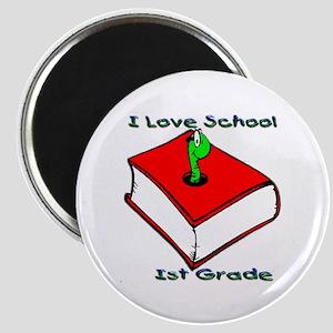 Bookworm 1st Grade Magnet