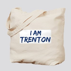 I am Trenton Tote Bag