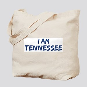 I am Tennessee Tote Bag