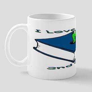 Bookworm 2nd Grade Mug