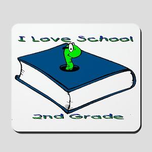 Bookworm 2nd Grade Mousepad