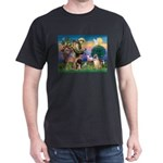 St Francis/Shar Pei #5 Dark T-Shirt