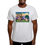 St Francis/Shar Pei #5 Light T-Shirt