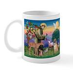 St Francis/Shar Pei #5 Mug