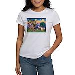 St Francis/Shar Pei #5 Women's T-Shirt
