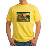 St Francis/Shar Pei #5 Yellow T-Shirt