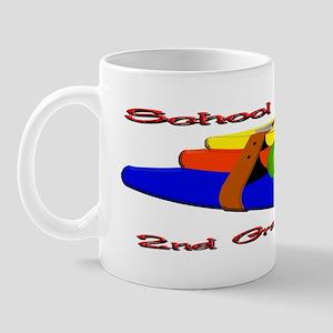 School's Cool 2nd Grade Rocks Mug