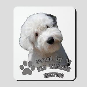 Old English Sheepdog Owner Mousepad