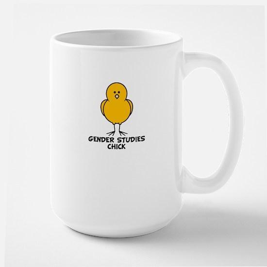 Gender Studies Chick Large Mug